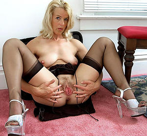 Amateur pics of mature milf connected with heels