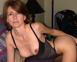 Beautiful mature wife dispirited