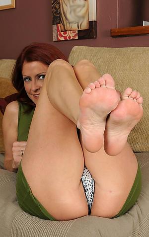 Magnificent mature womens feet