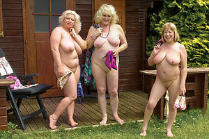 Nude british amateur granny