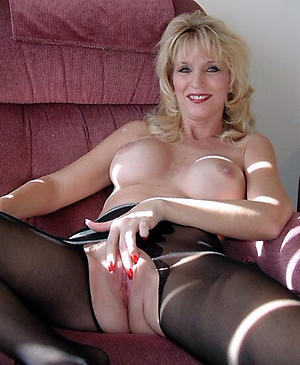 Reality titillating older matures photo
