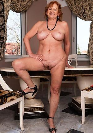 Hot porn of matured sluts alongside heels