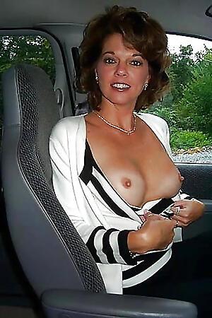 Reality full-grown morose in car nude gallery