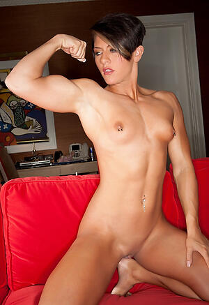 Lovely naked muscle mature