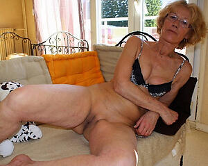 Elegant sexy older mature women