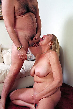 Sweltering mature full-grown coitus porn pics