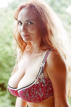 Morose amateur mature readhead porn pics