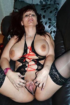 Beautiful mature lingerie hot pics