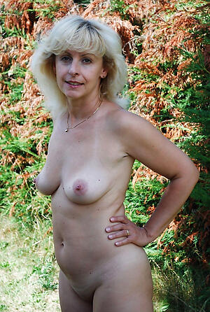 Nude grown-up women with small tits
