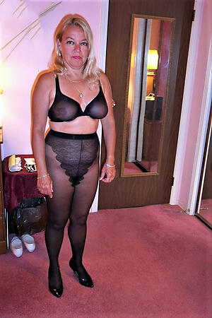 Hot matures in pantyhose