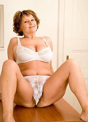Sexy hot lingerie mature