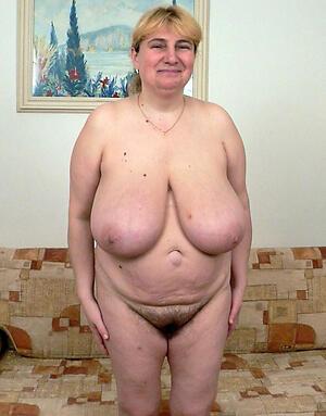 Pretty big tit of age women naked pics