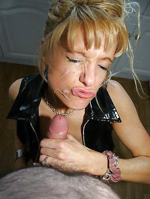 Slutty older wife handjob cumshot