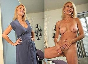 Naked women dressed & undressed photos