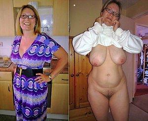 Slutty women dressed & undressed