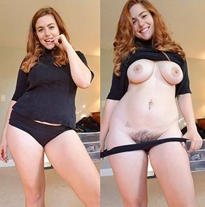 Sexy dress and undress women pics