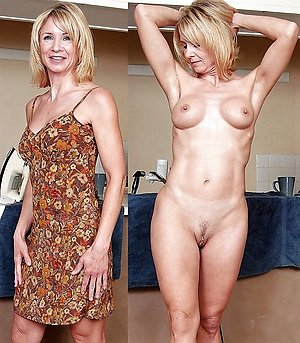 Sweet mature dressed and undressed pictures