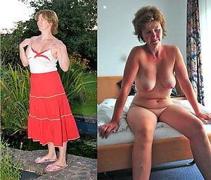 Beautiful matures dressed and undressed