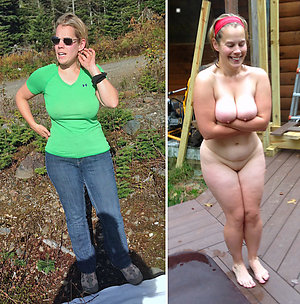 Free dressed and undressed ladies pics