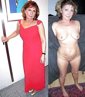 Free dressed undressed mature milf photos