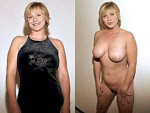 Naughty older girls dressed and undressed