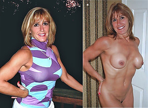 Sweet mature dressed undressed gallery