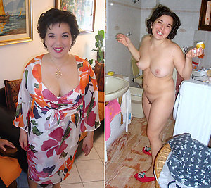 Real older women dressed undressed gallery
