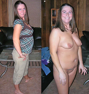 Cute sexy old women dressed then undressed pics
