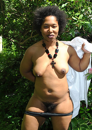Nude sexy naked ebony old women