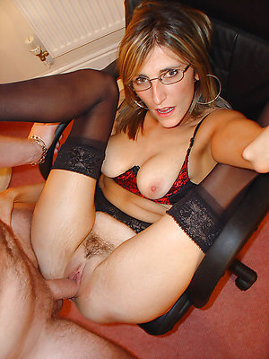 Pretty horny mature sluts with glasses