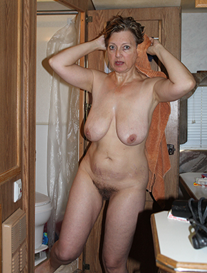 Beautiful natural naked hairy ladies