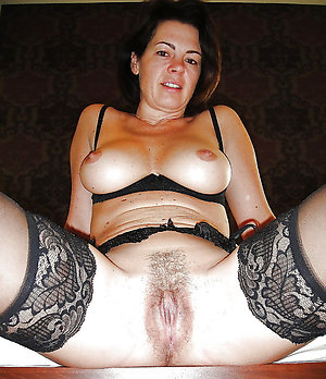 Amateur pics of hairy mature wife