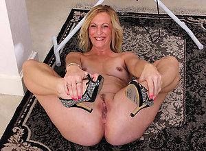 Nude mature in heels amateur photos