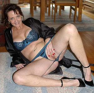 Best nude mature high heel