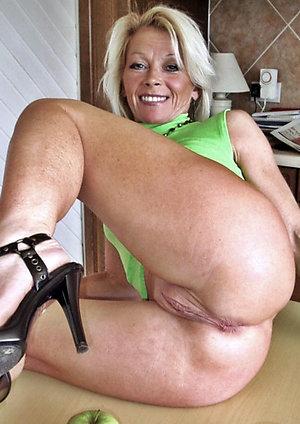 Whorish nude beautiful women in heels