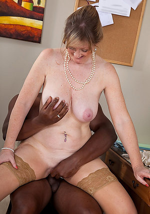 Homemade private mature interracial fucking