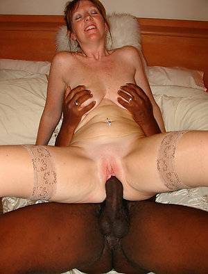Older amateur interracial blowjob