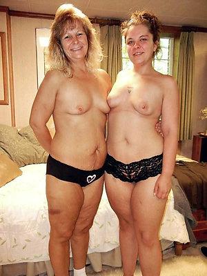 Xxx amateur lesbian old ladies